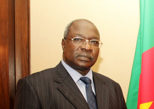 Mahamat Paba Salé, ambassadeur du Cameroun en Russie