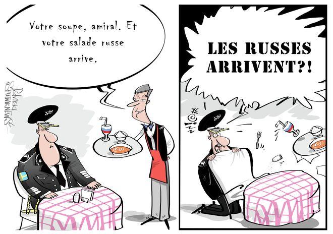 Les Russes arrivent