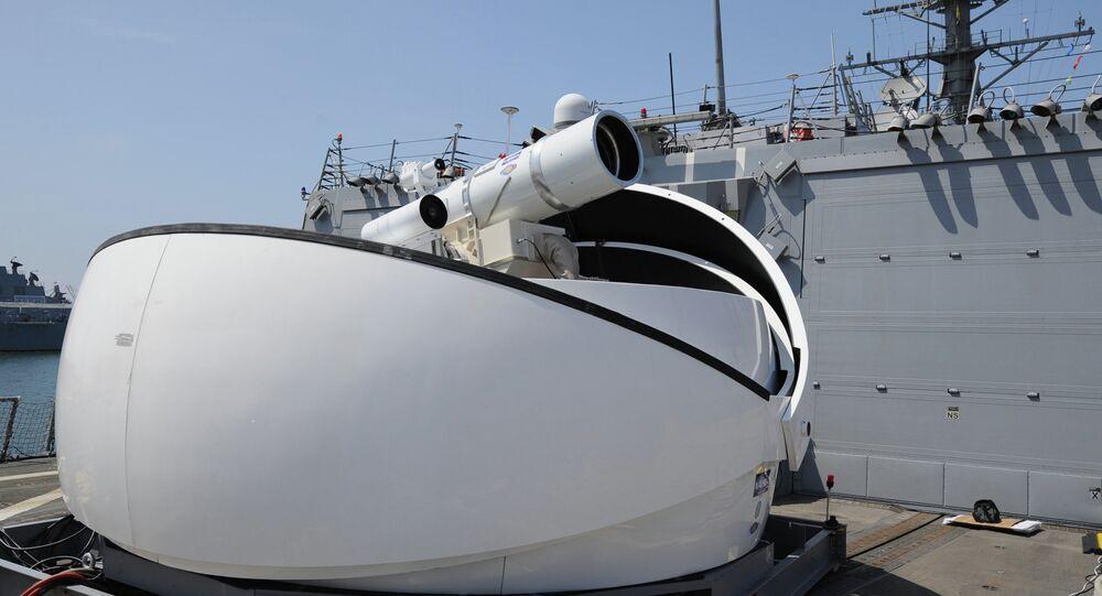 Un Laser Weapon System (LaWS)
