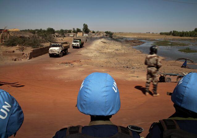 Casques bleus au Mali (archive photo)
