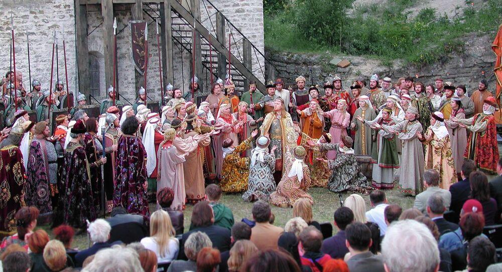 Fragment de l'opéra Prince Igor