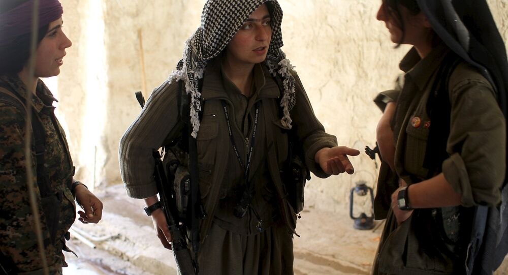 Combattantes du PKK