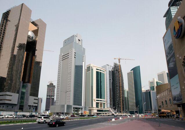 la capitale de Qatar, Doha