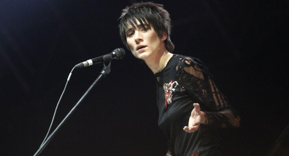 Zemfira Ramazanova, chanteuse russe