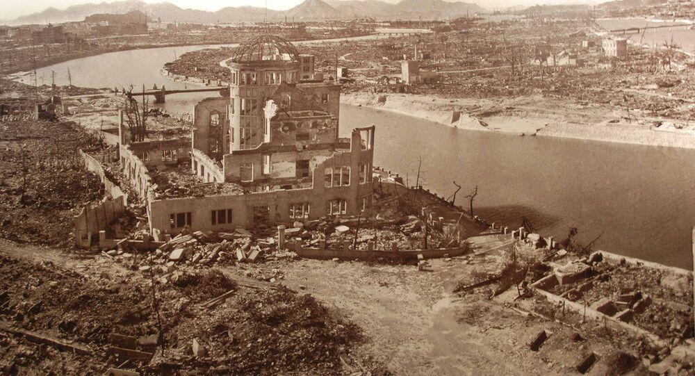 La ville de Hiroshima après les bombardements atomiques
