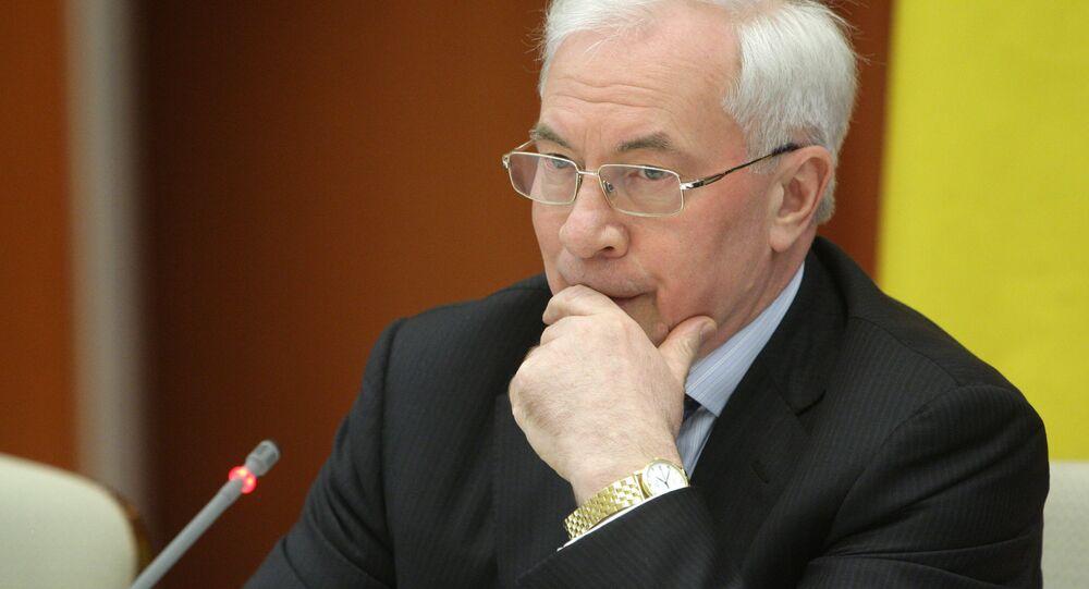 L'ancien premier ministre ukrainien Nikolaï Azarov