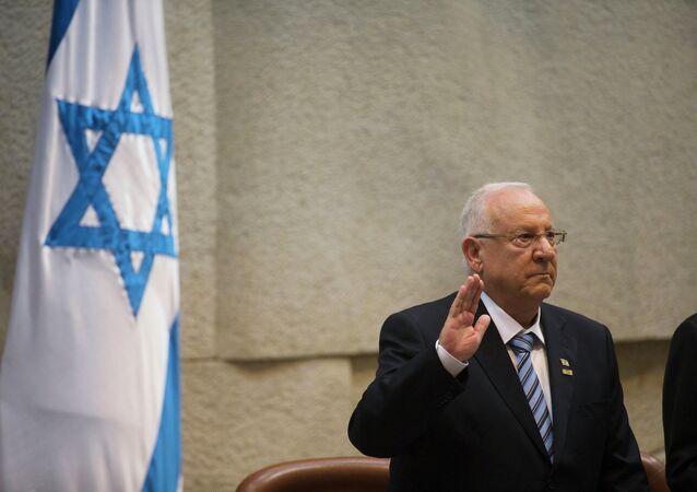 Président israélien Reuven Rivlin