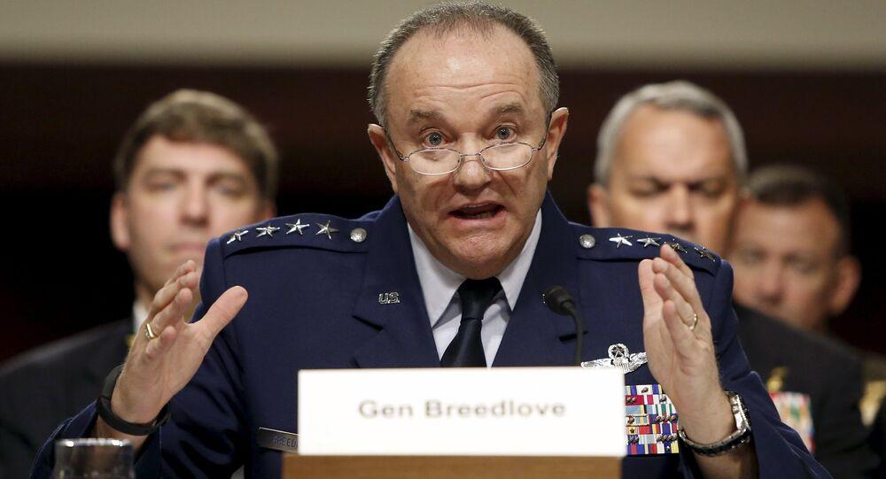 Philip Breedlove, commandant en chef des forces de l'Otan en Europe