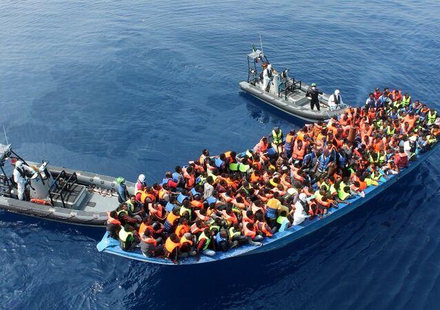 Migrants en Méditerranée