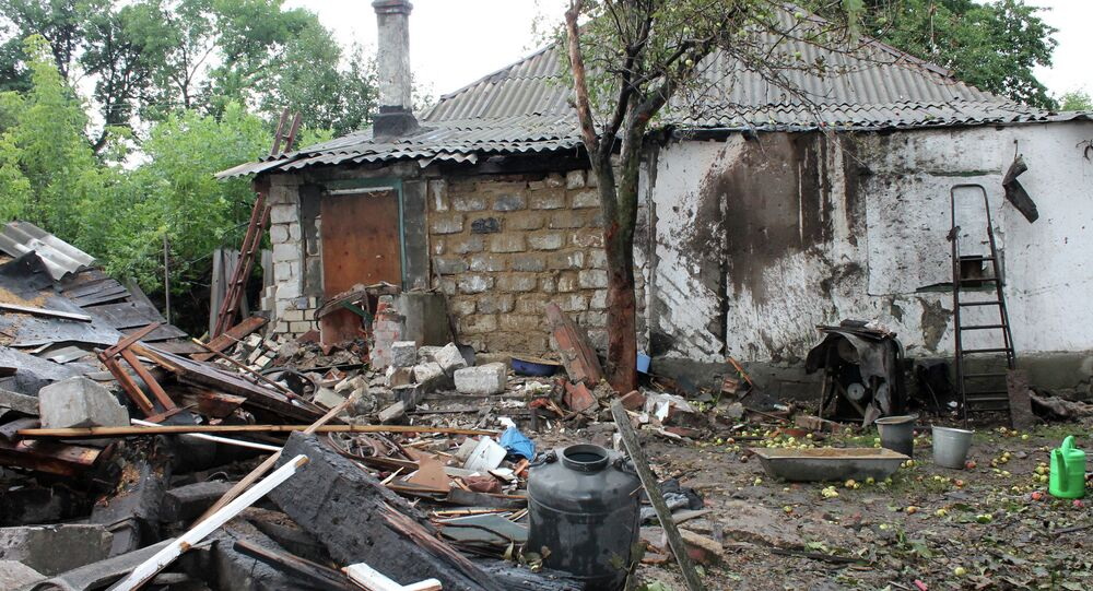 Ville de Gorlovka (Donbass)