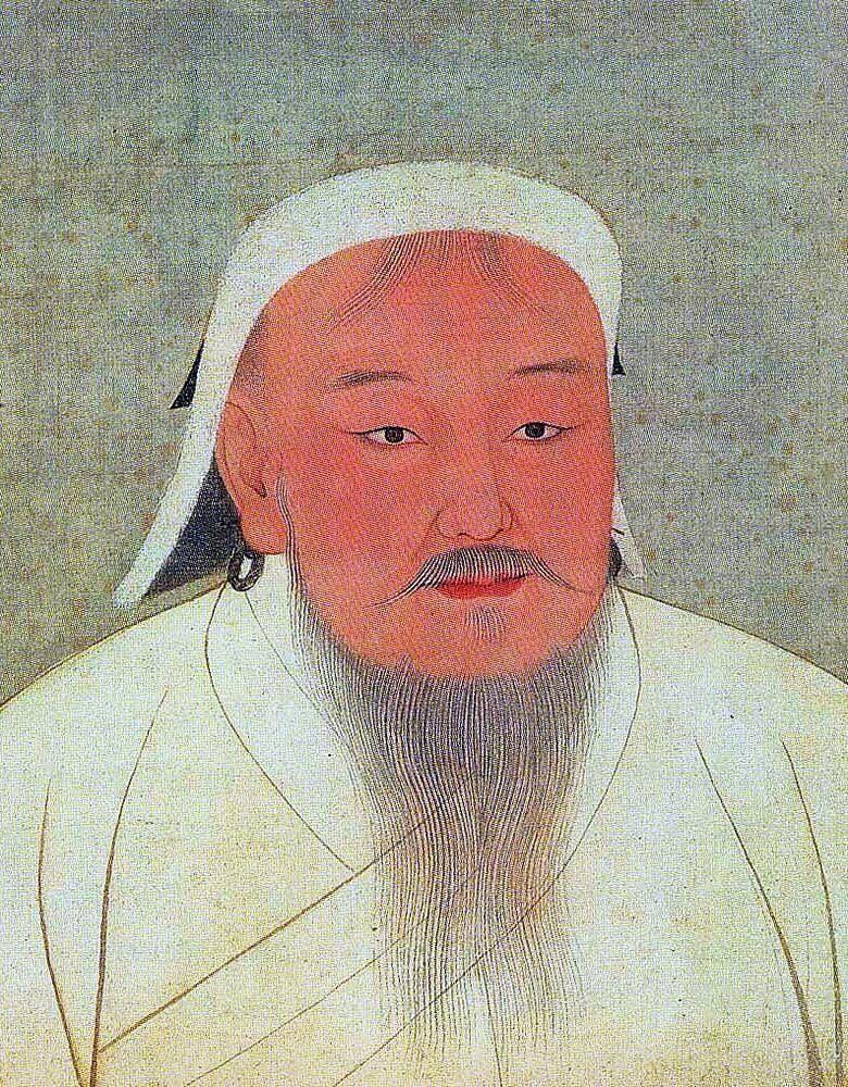 Le fondateur de l'Empire mongole Genghis Khan