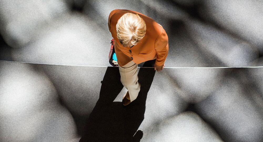 Chancelière allemande Angela Merkel. Archive photo
