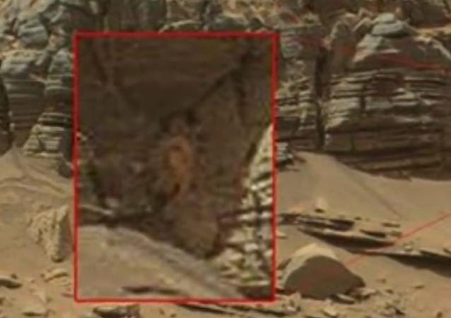 Un crabe géant sur Mars