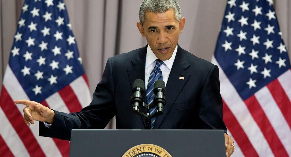 Intervention de Barack Obama