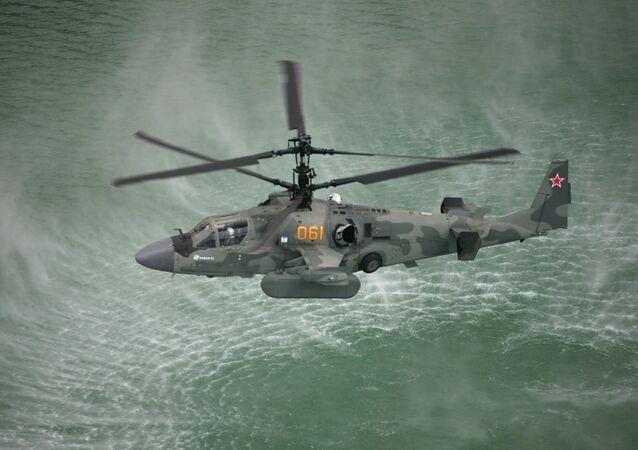 Hélicoptère Ka-52