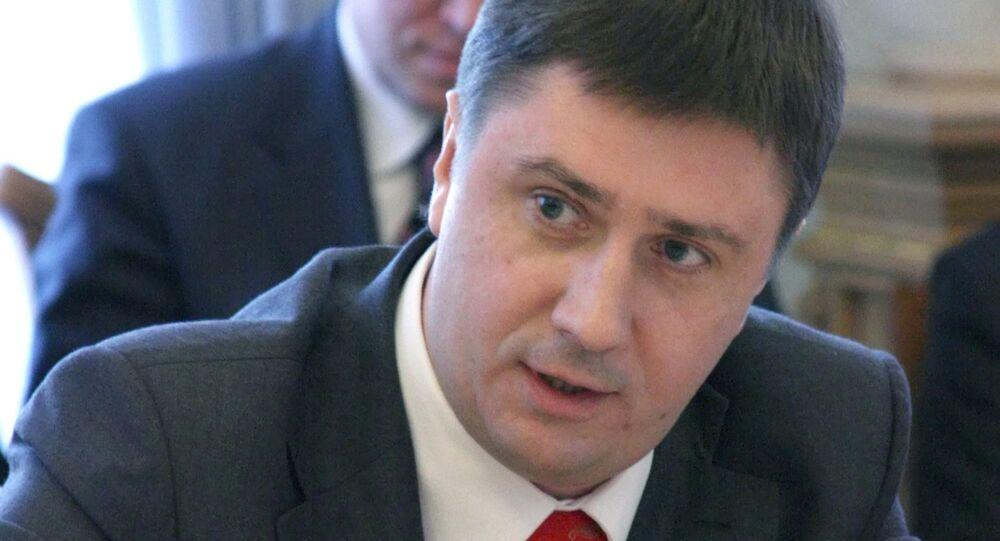 Ministre ukrainien de la Culture Viatcheslav Kirilenko