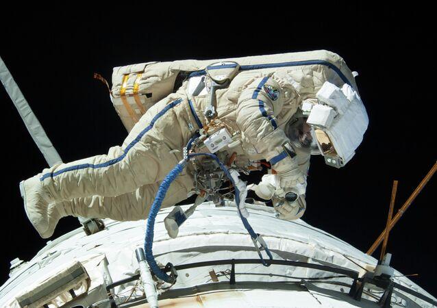 Recordman de l'espace Guennadi Padalka