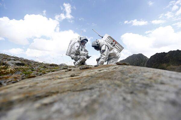 Expédition martienne en Autriche - Sputnik France