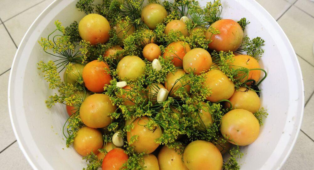 Tomates à l'aneth