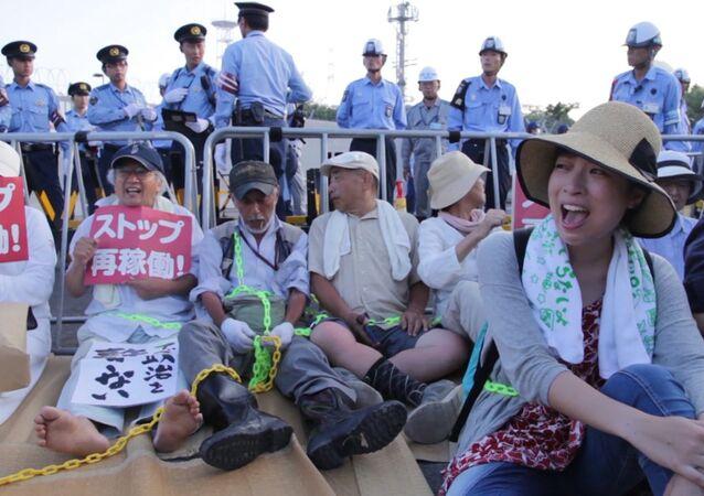 Les Japonais protestent contre le retour au nucléaire