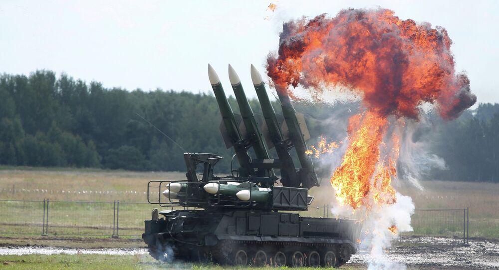 Système de défense antiaérienne Bouk
