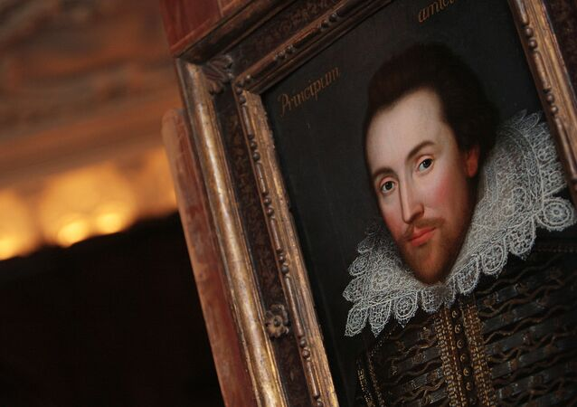 Portrait de William Shakespeare. Image d'illustration