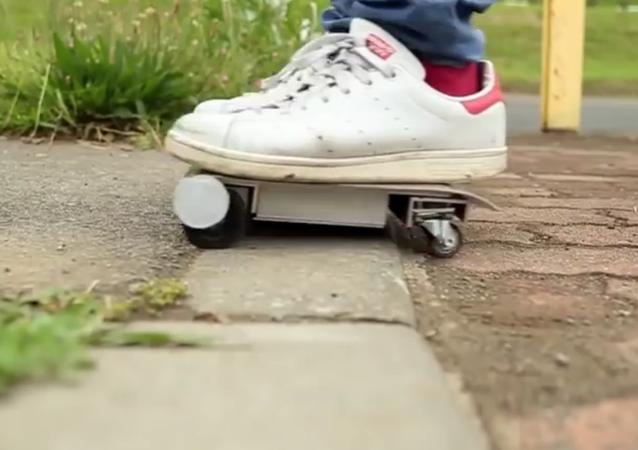 Le Walk Car, un skate à emporter