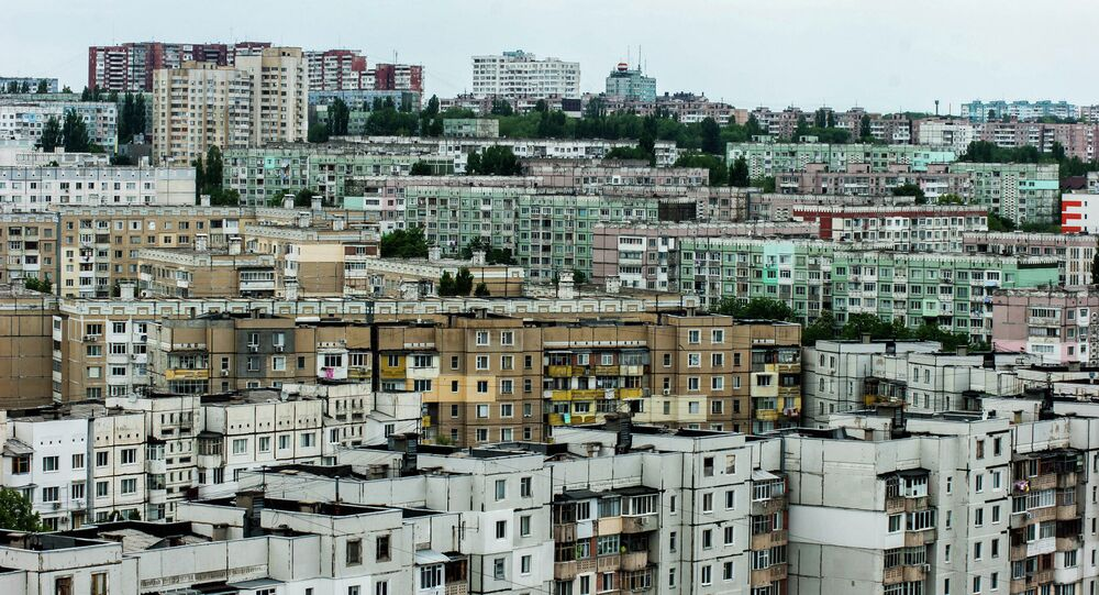 Chișinău, la capitale de la République de Moldavie