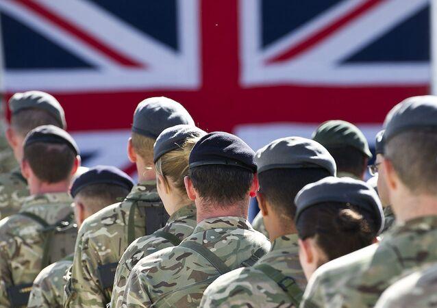 troupes britanniques