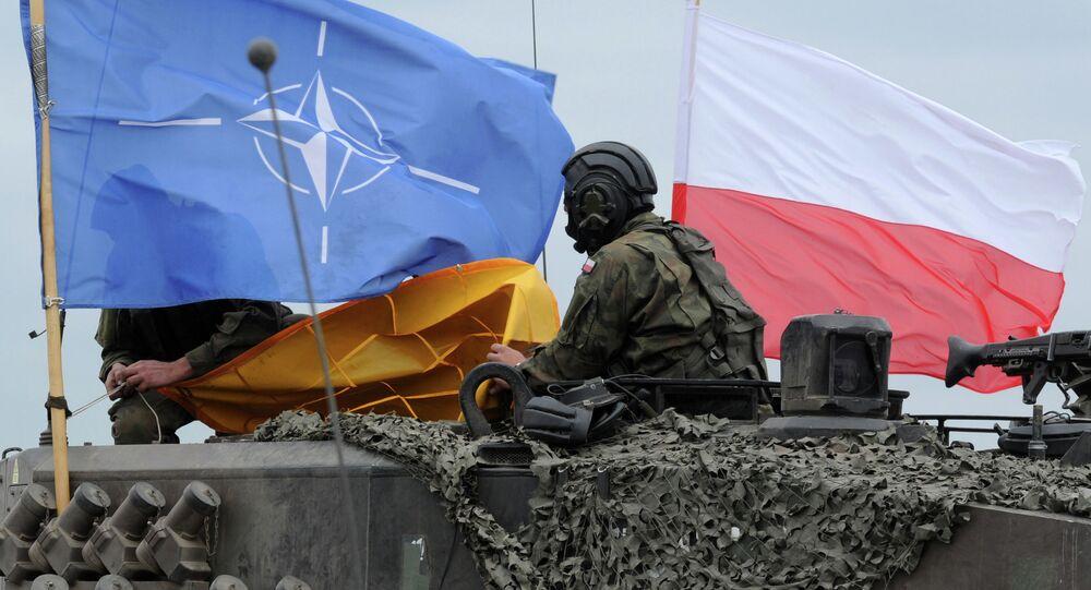 troupes de l'Otan en Pologne