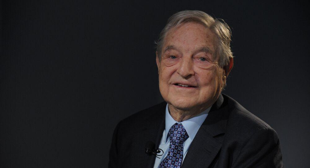 Milliardaire américain George Soros. Archive photo
