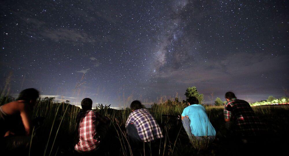 étoiles filantes de Perséides