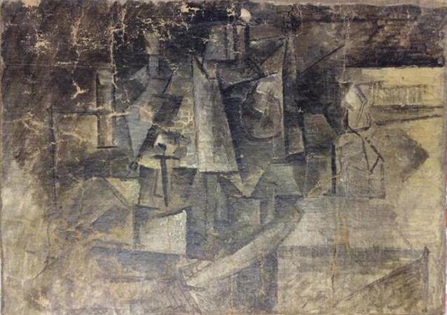 «La Coiffeuse» Picasso