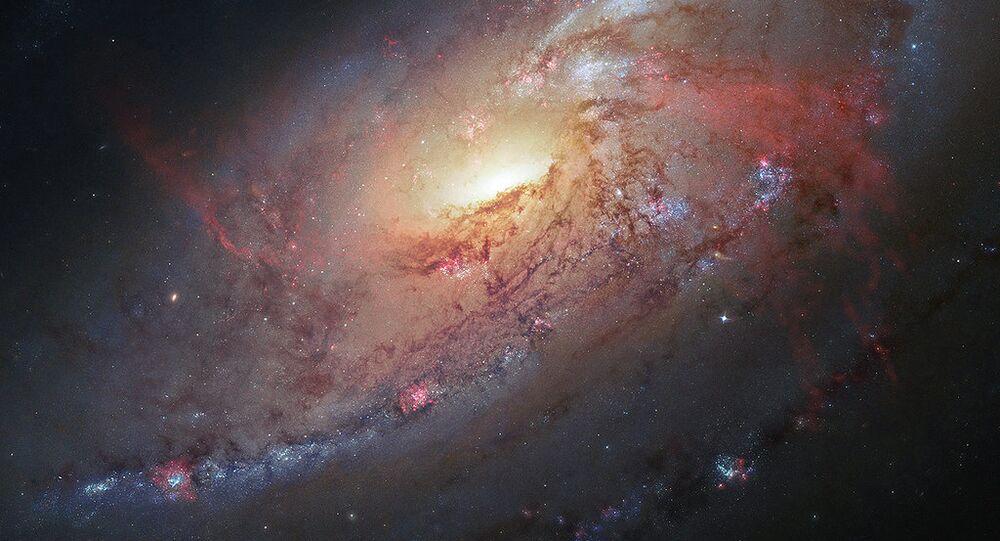 Spiral Galaxy M106