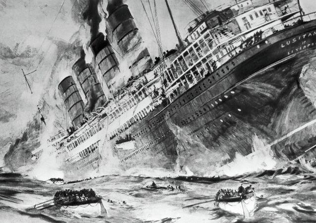 Naufrage du Lusitania