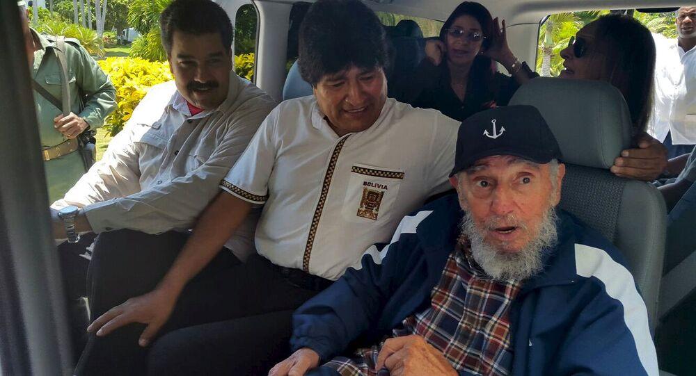 ex-président cubain Fidel Castro