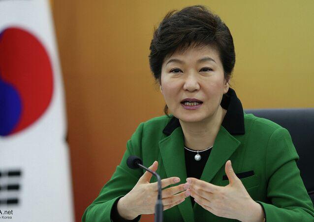 La présidente sud-coréenne Park Geun-hye