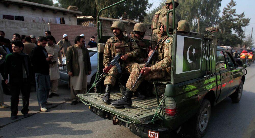 Forces de sécurité pakistanaises