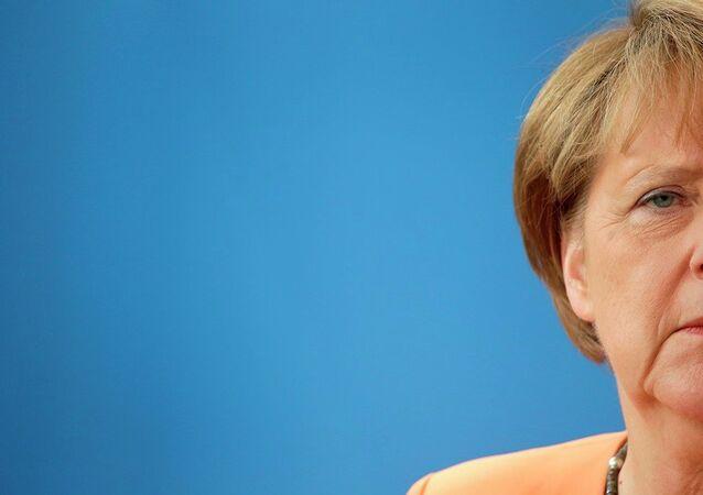 Chancelière allemande Angela Merkel