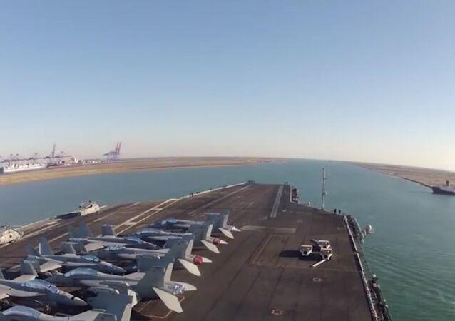 Le nouveau canal de Suez en 90 secondes