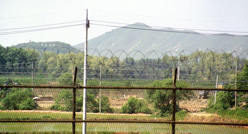 Frontière entre les deux Corées