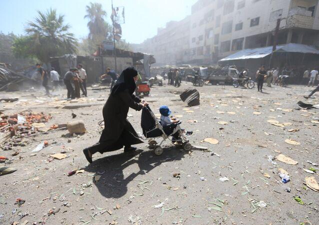 Situation en Syrie.  Août 12, 2015