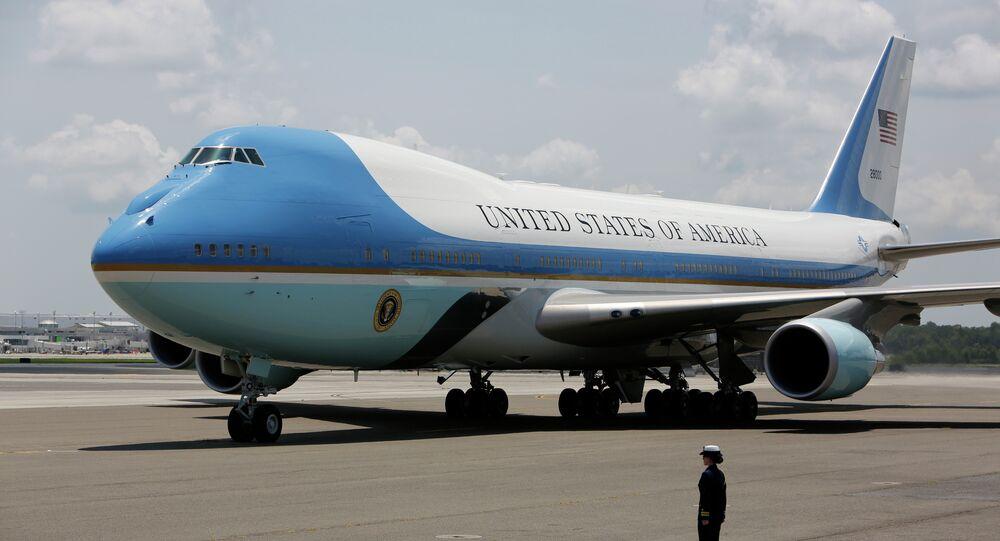 Un avion VC-25A du Président américain