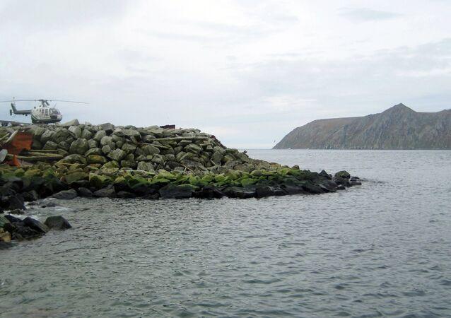 Petite Diomède, Alaska, Etats-Unis