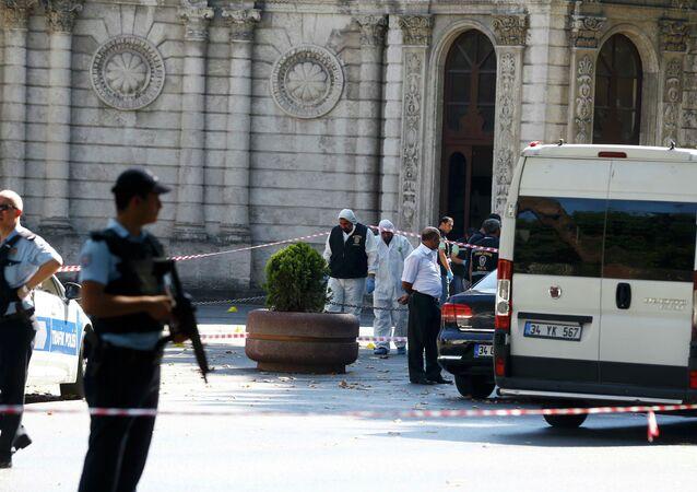 Turquie: des tirs près du Palais de Dolmabahçe à Istanbul