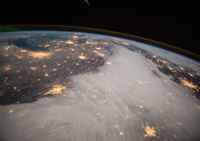 La Terre vue depuis la Station spatiale internationale (ISS)