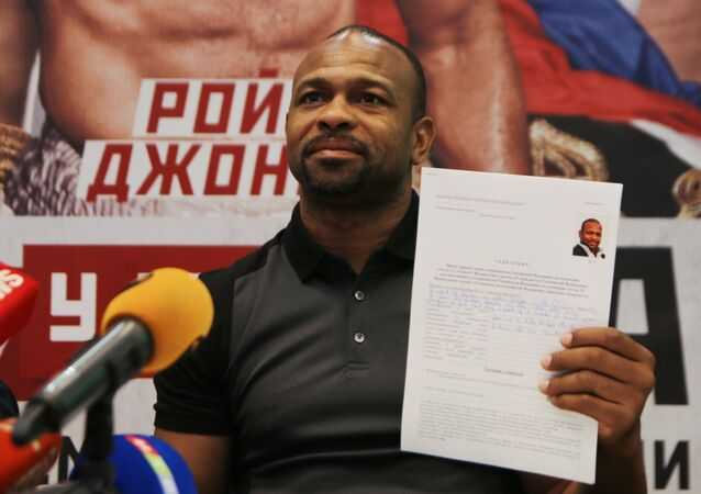 Un boxeur US à Poutine: «Joyeux anniversaire, merci pour le passeport, je suis Russe»