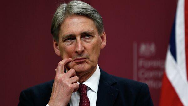 Le chancelier de l'Échiquier du gouvernement Theresa May, Philip Hammond - Sputnik France