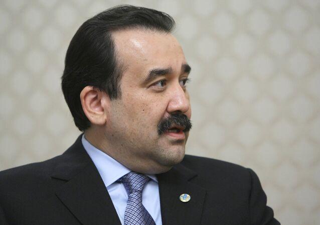 Le premier ministre kazakh Karim Massimov