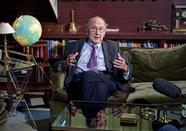 Ex-chef de la diplomatie allemande Hans-Dietrich Genscher